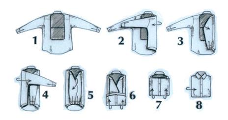 Semi-standup folding