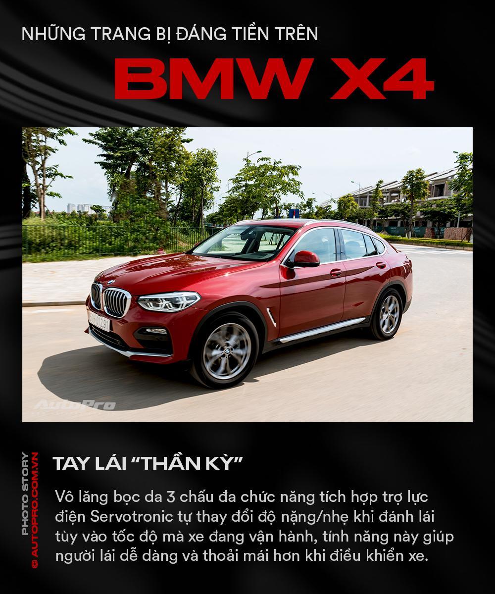Những trang bị đáng tiền trên BMW X4 - Ảnh 2.