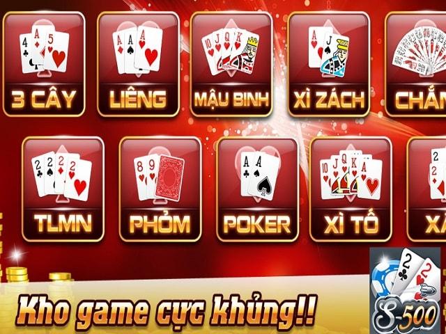 Game bài đổi thưởng thu hút nhiều người chơi