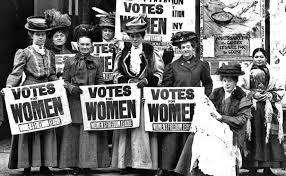 ooh buitenreclame spandoeken van vrouwen rechten activisten