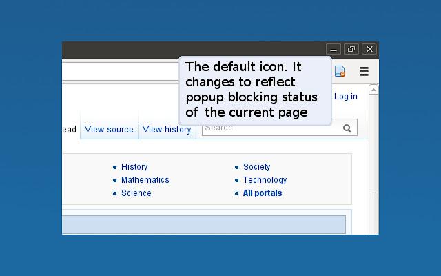 how to get a pop up blocker for google chrome