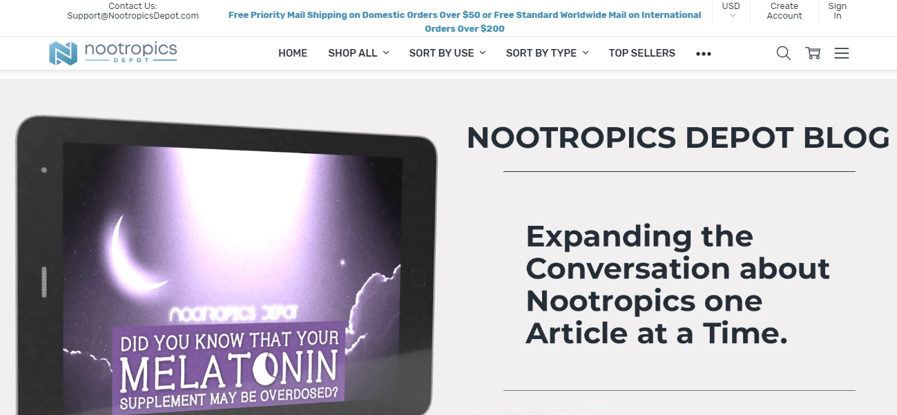 Nootropics Depot Coupon Review
