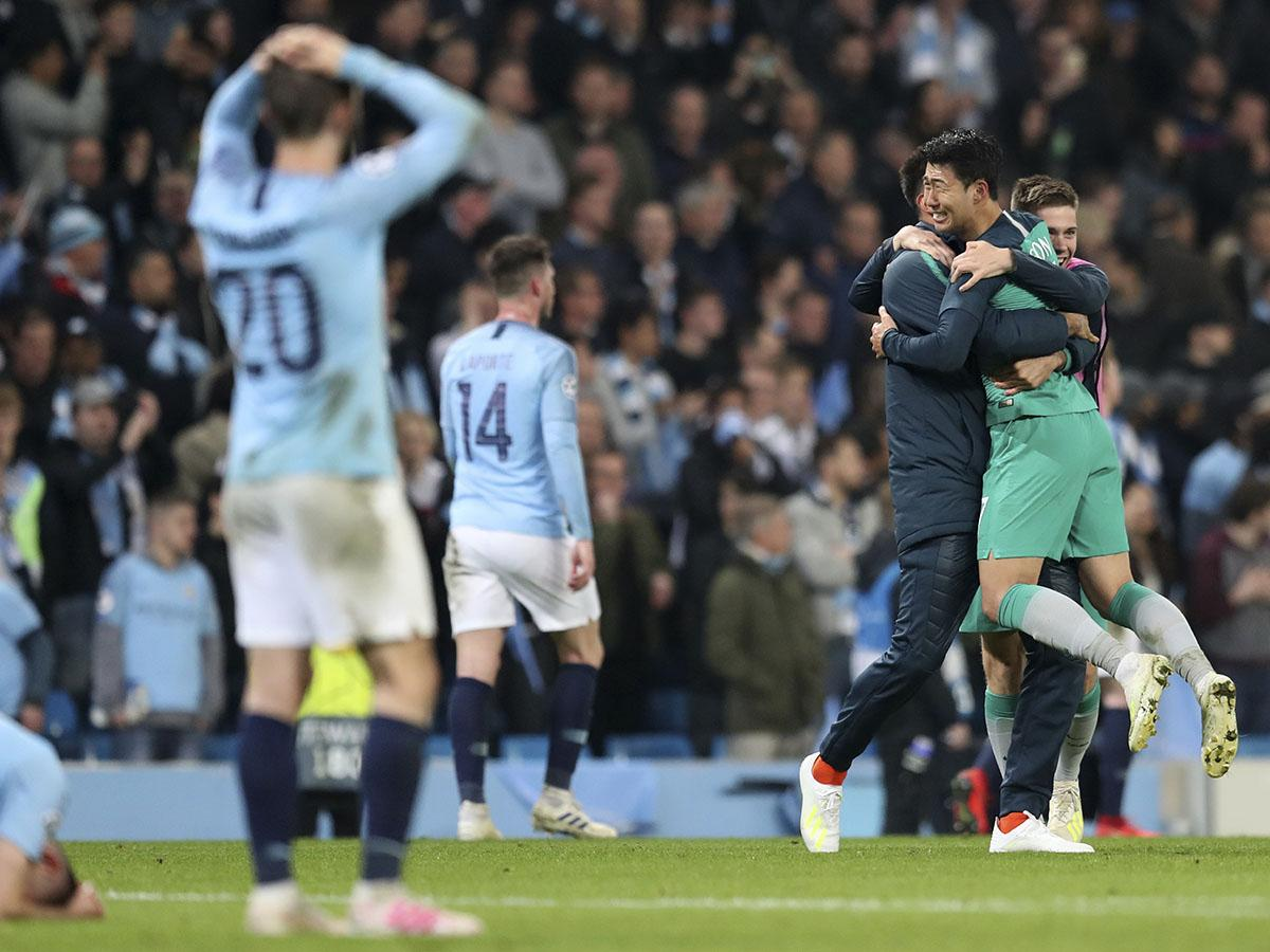 Image result for Tottenham - Manchester City