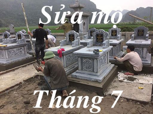 Sửa sang mộ phần tổ tiên