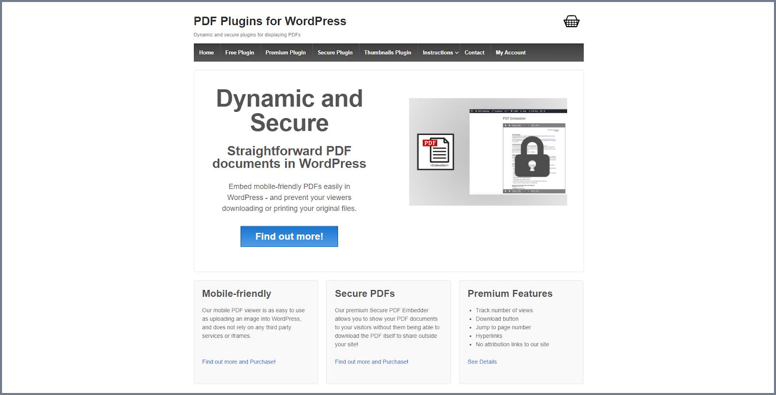 Best WordPress PDF plugin