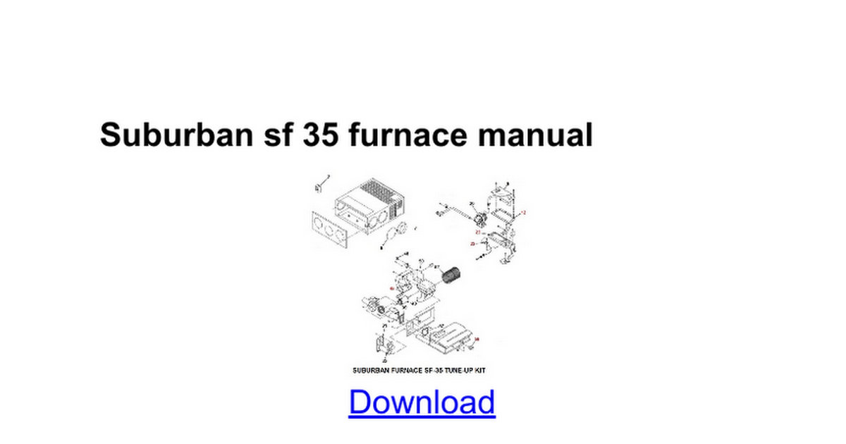 suburban sf 35 furnace manual google docs