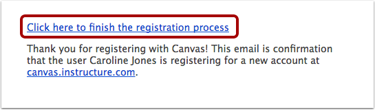 Complete Registration Process