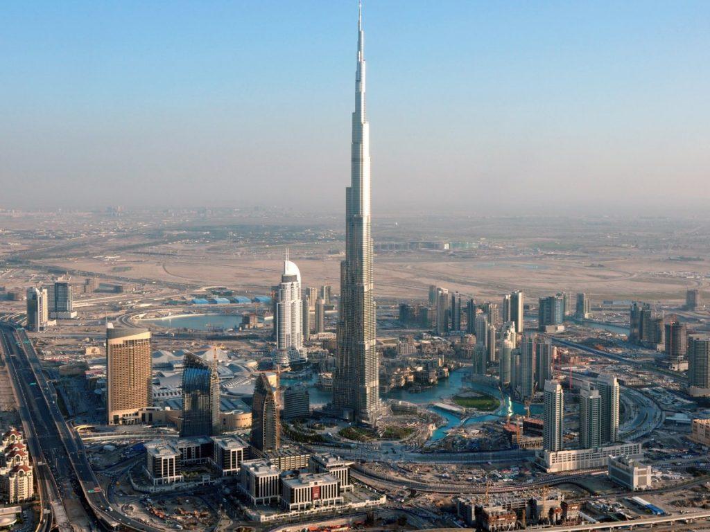 Đặc khu kinh tế Dubai - UAE.