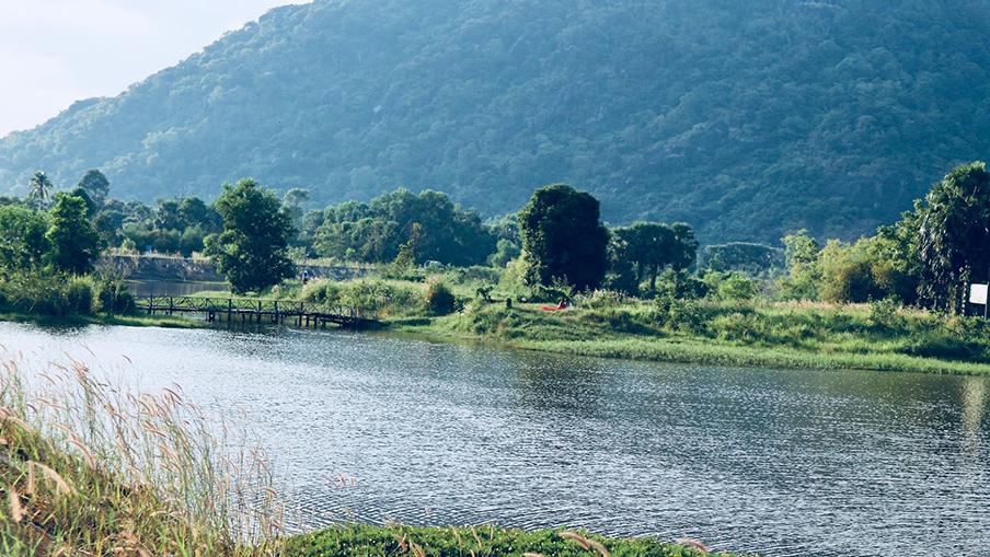 Hồ Soài So - Bức tranh thủy mặc tuyệt đẹp vùng Bảy Núi - BongTrip.vn