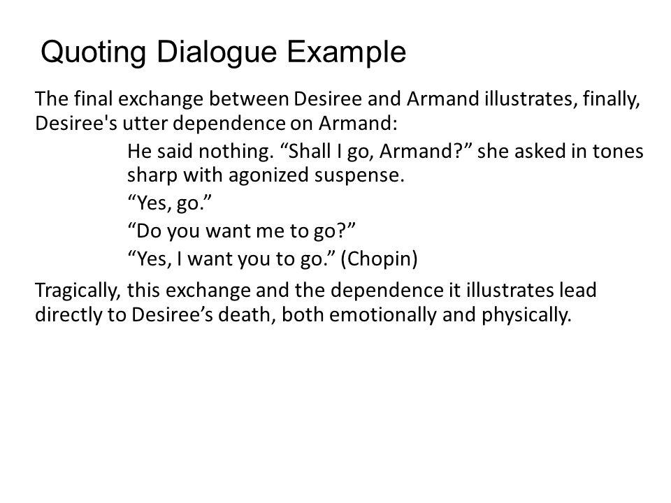 How to write dialogue in an essay