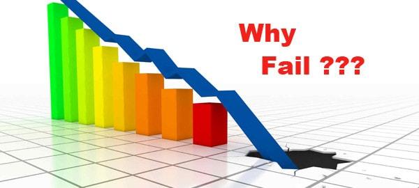 5 STRONGEST FAILURE REASONS   Failure Stories of Successful People    SKILLED GURU