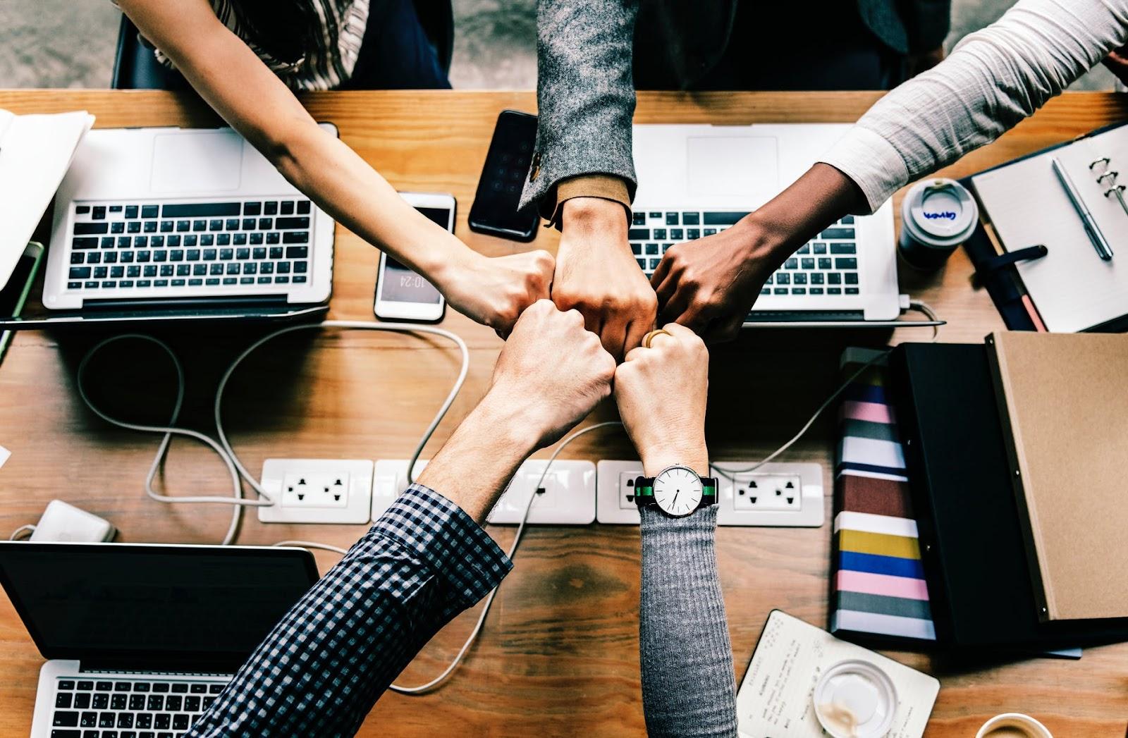 Teamwork for event planning