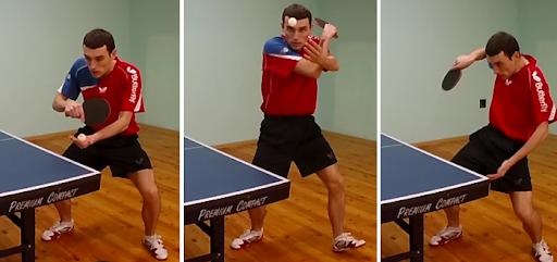 Подача слева в настольном теннисе | ARTEMUTOCHKIN.RU