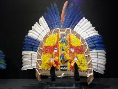 Resultado de imagem para arte plumária indígena brasileira