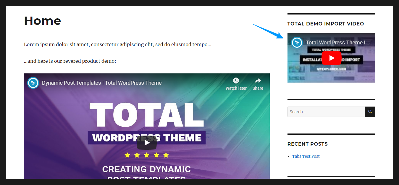 How to add videos to wordpress website