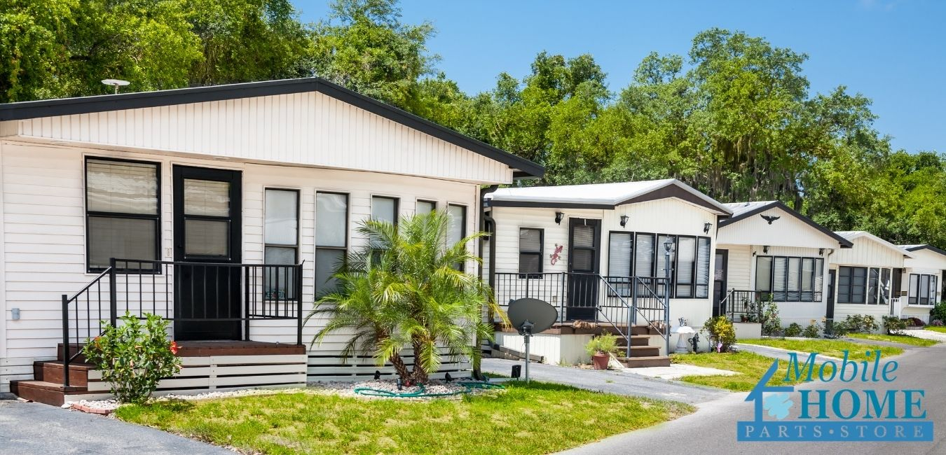 Mobile Home Community Front Doors
