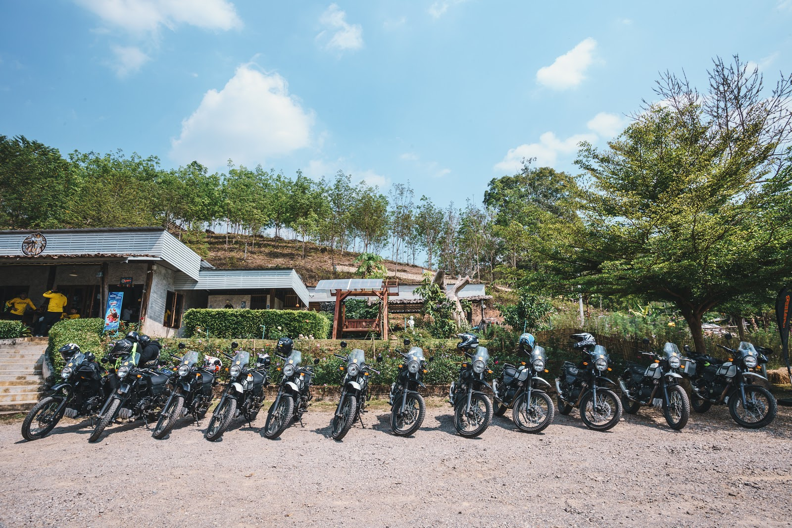 Bikes lined up: To rent or buy a motorbike