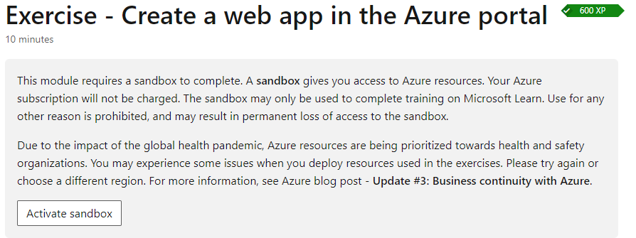 How to learn Azure without paid subscription?