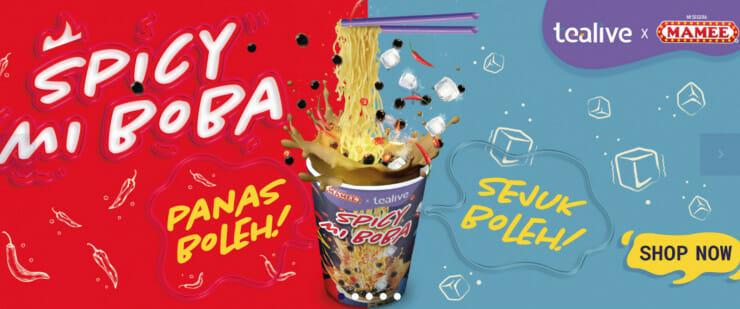 MAMEE & Tealive Collaborated To Produce 'Spicy Mi Boba' And Everyone's  Confused