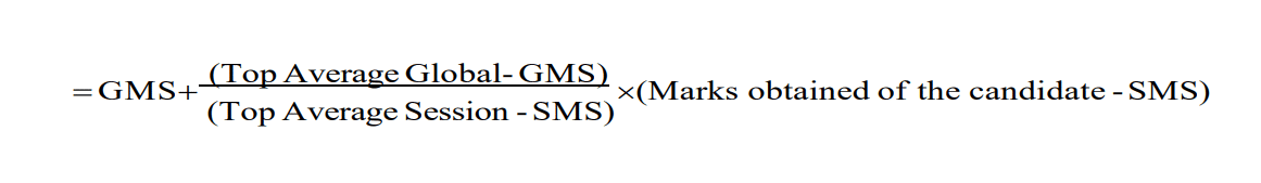 AP EAMCET Normalization Formula