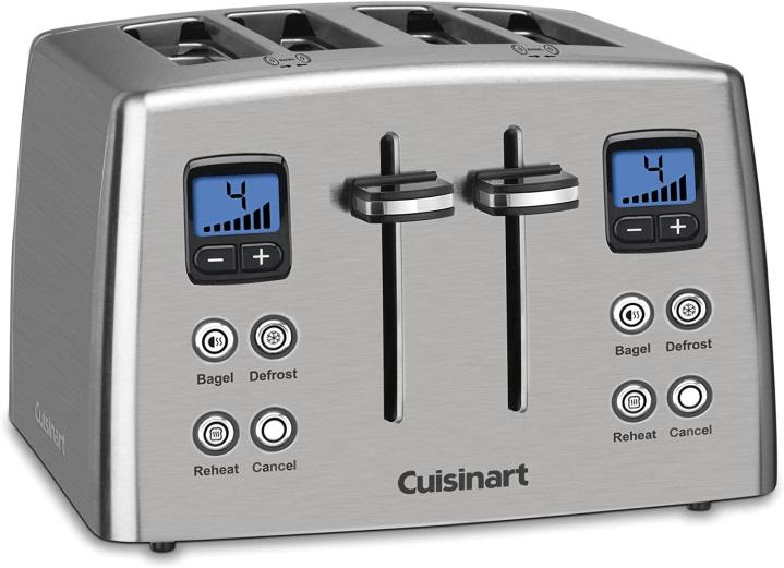 CUISINART COUNT DOWN FOUR SLICE TOASTER