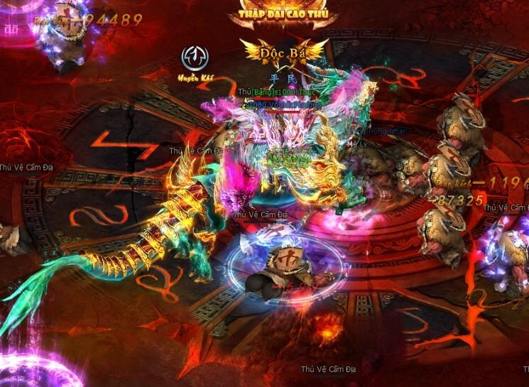 Phó bản EXP | Webgame Khoa Huyễn Cửu Tinh Vô Song | 360game.vn