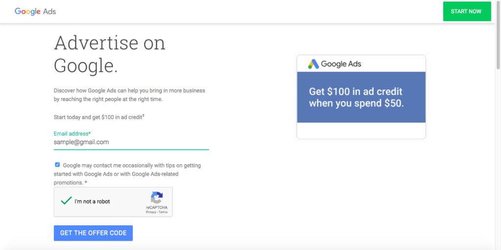 advertise google