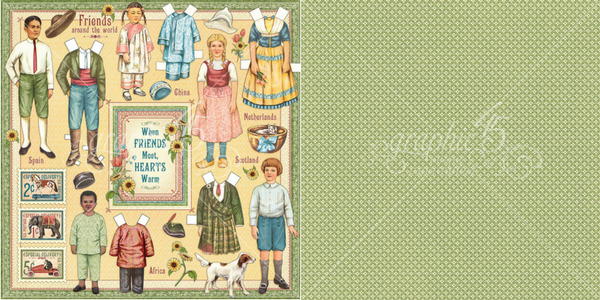 Forever Friends, Penny's Paper Doll Family, Graphic 45.png
