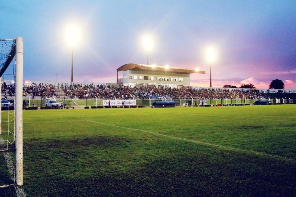 Estádio Gigante do Norte em Sinop-MT — Foto: Júlio Tábile/SinopFC