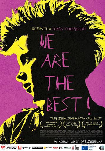 Polski plakat filmu 'We Are The Best!'