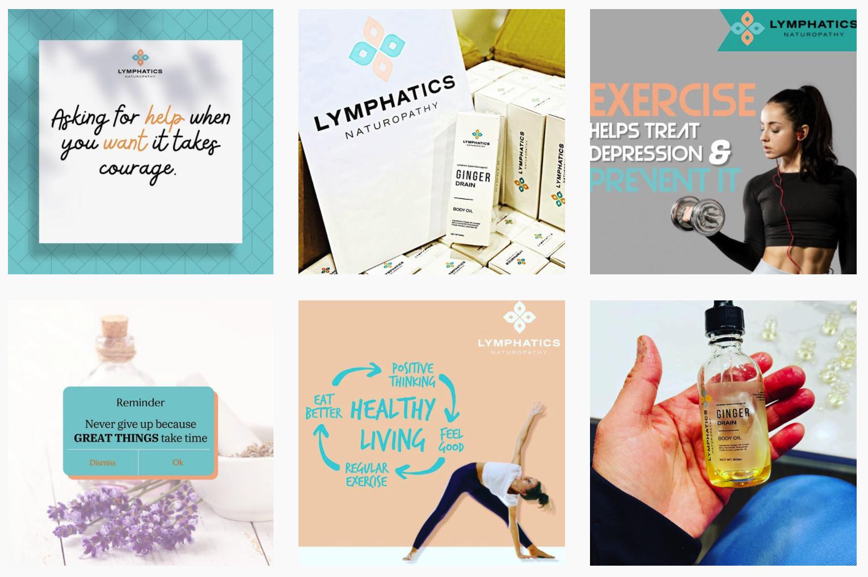 LYMPHATICS NATUROPATHY | Social Media Product Gallery
