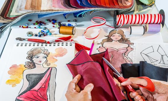formação em design de moda
