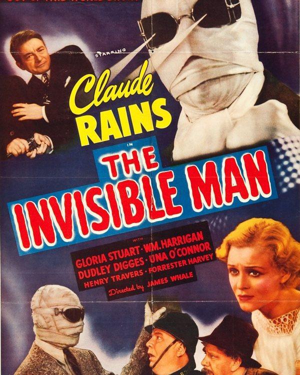 El hombre invisible (1933, James Whale)