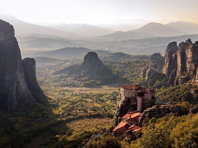 Meteora, Hy Lạp - nơi được công nhận là di sản thế giới vào năm 1988.
