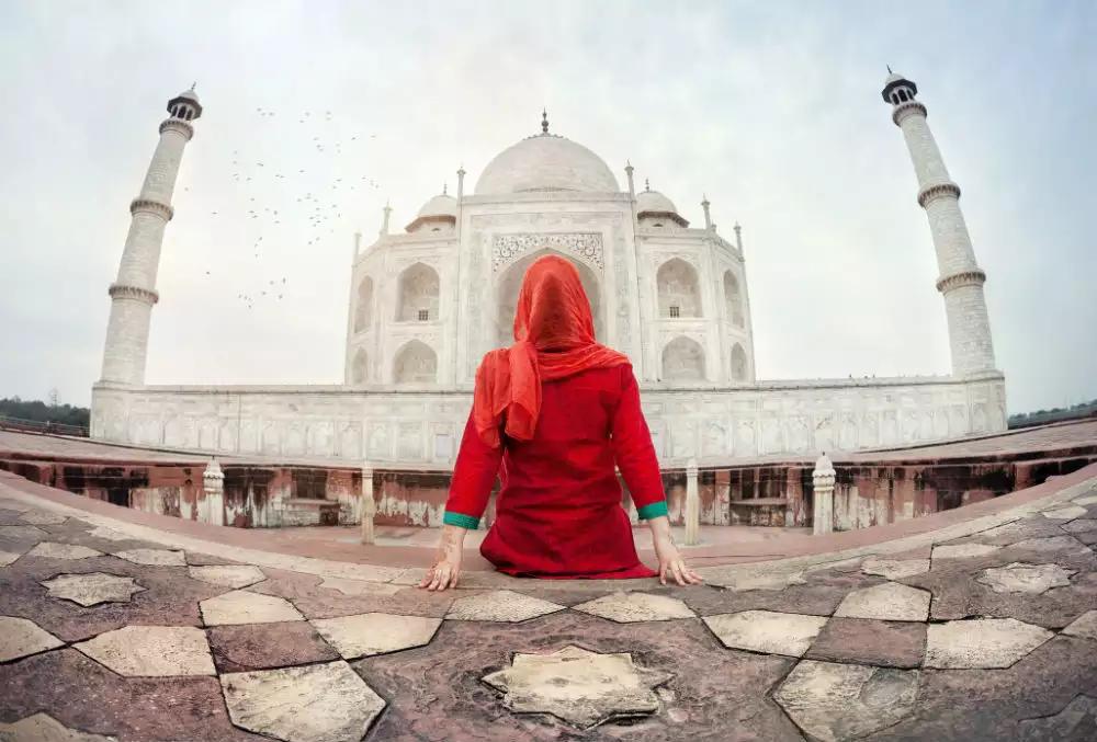 Visit to the Taj Mahal