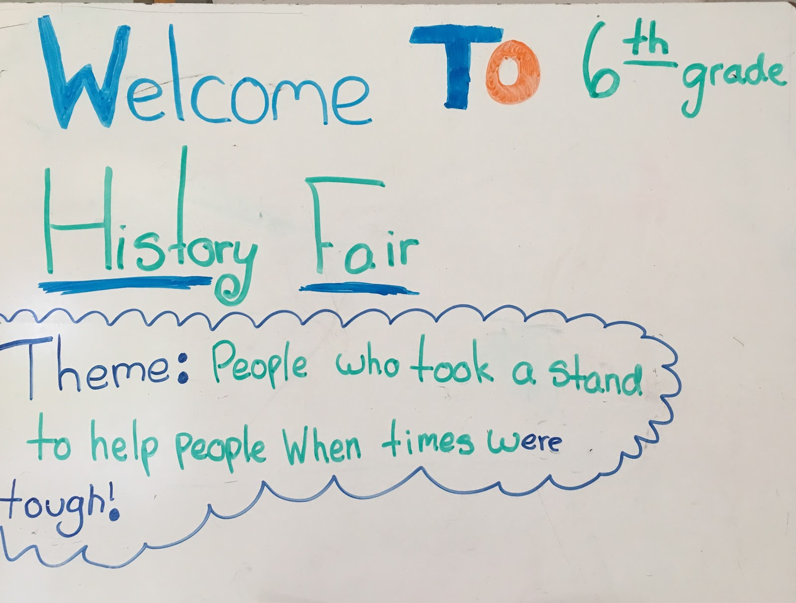 welcome to history fair.JPG