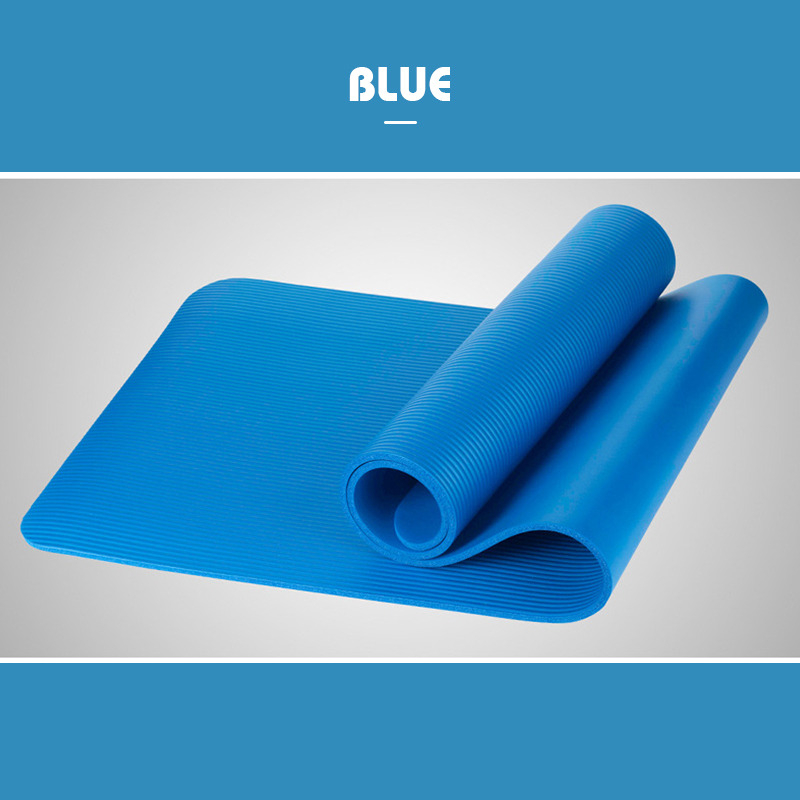 Young Unisex Yoga Mat Workout Exercise Auxiliary Pad Thick Nonslip Free Shipping