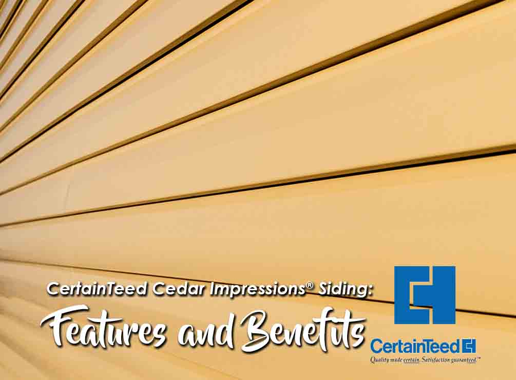 Siding Features and Benefits