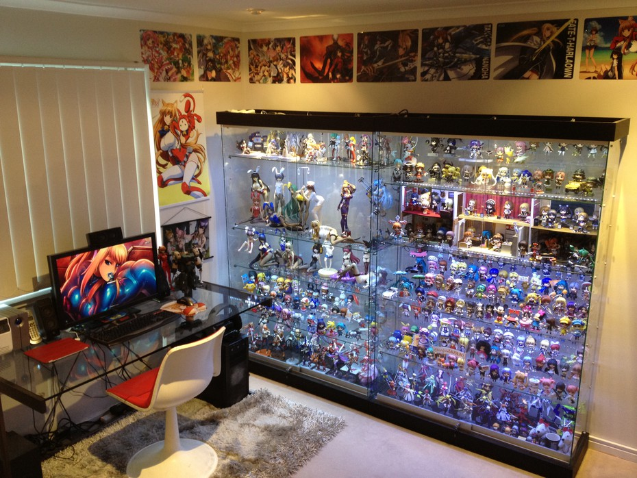 14 anime rooms that just might be heaven for Anime themed bedroom ideas