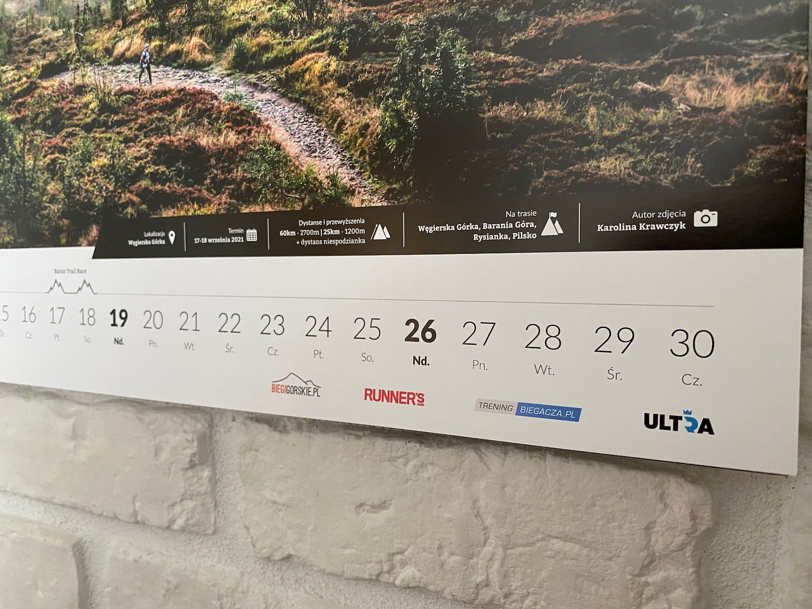 Kalendarz Ultratrail - szczegóły wydarzenia