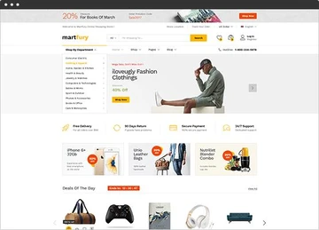 shopify marketplace theme martfuri