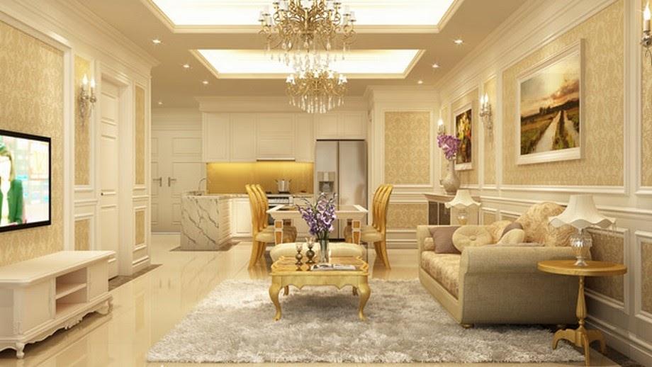 Thiết kế nội thất Châu Âu phong cách cổ điển