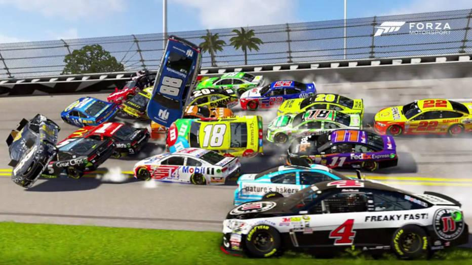 Image result for nascar crashes