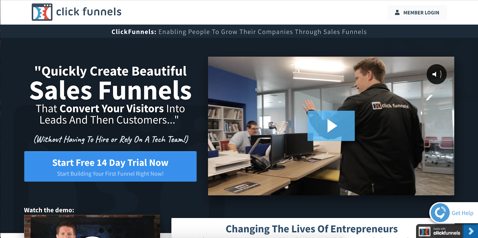 Top Marketing Tool Example #16 - ClickFunnels | 16 Powerful Marketing Tools You Haven't Considered (But Probably Should)