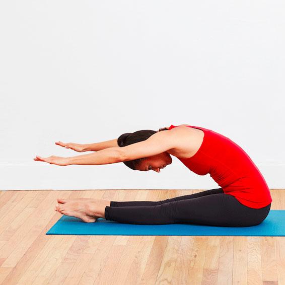 Gập bụng kiểu Pilates (Pilates Sit Up)