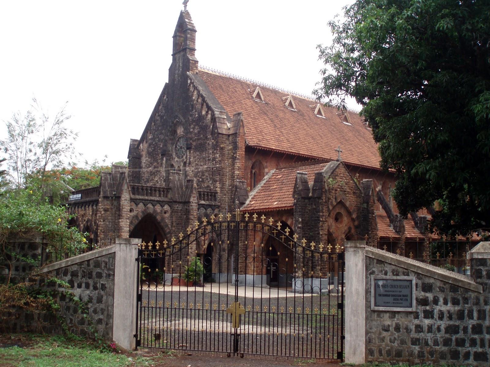 St Merry's Church in Belgaum