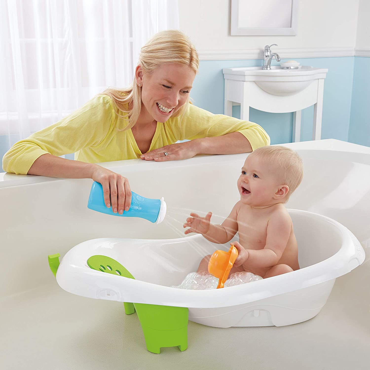Fisher-Price 4-In-1 Sling And Seat BathTub