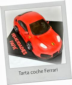 TARTA COCHE FERRARI