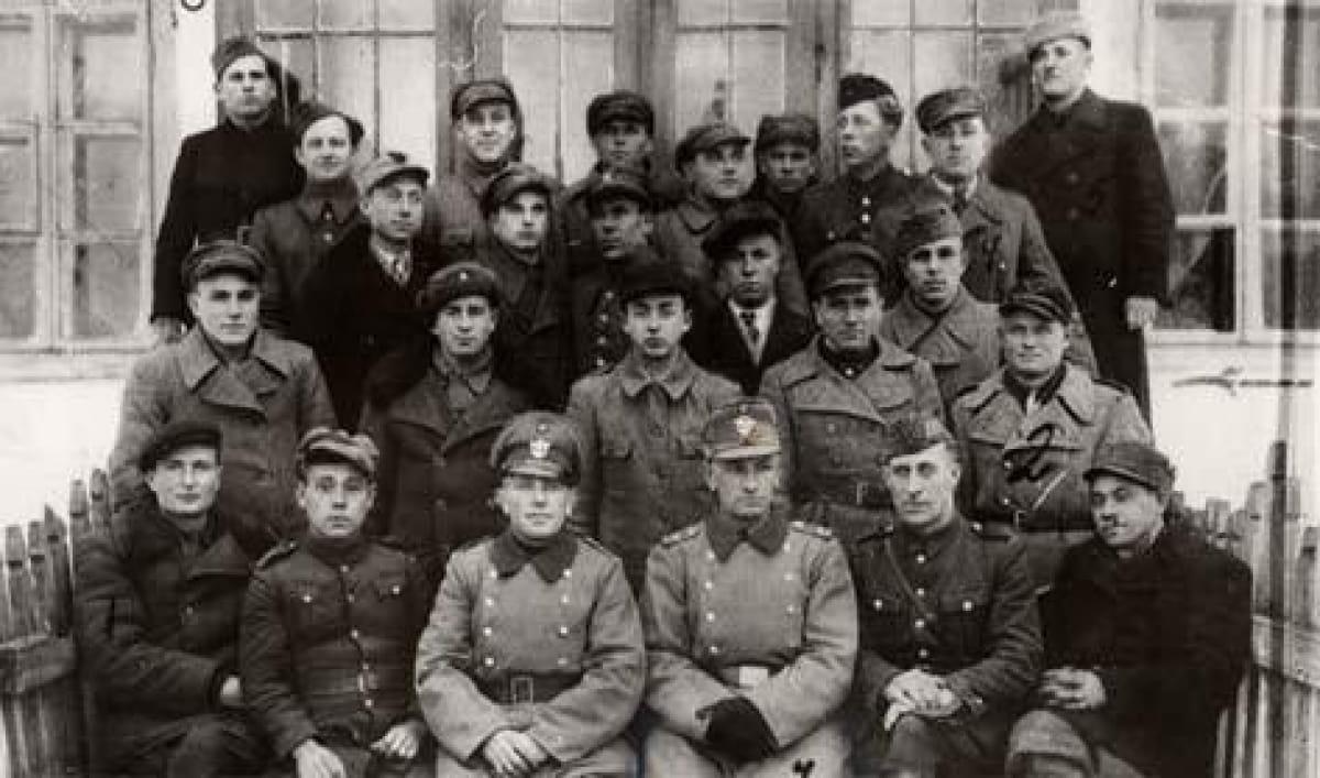 Нацистские полицаи в Ровно, Вторая мировая