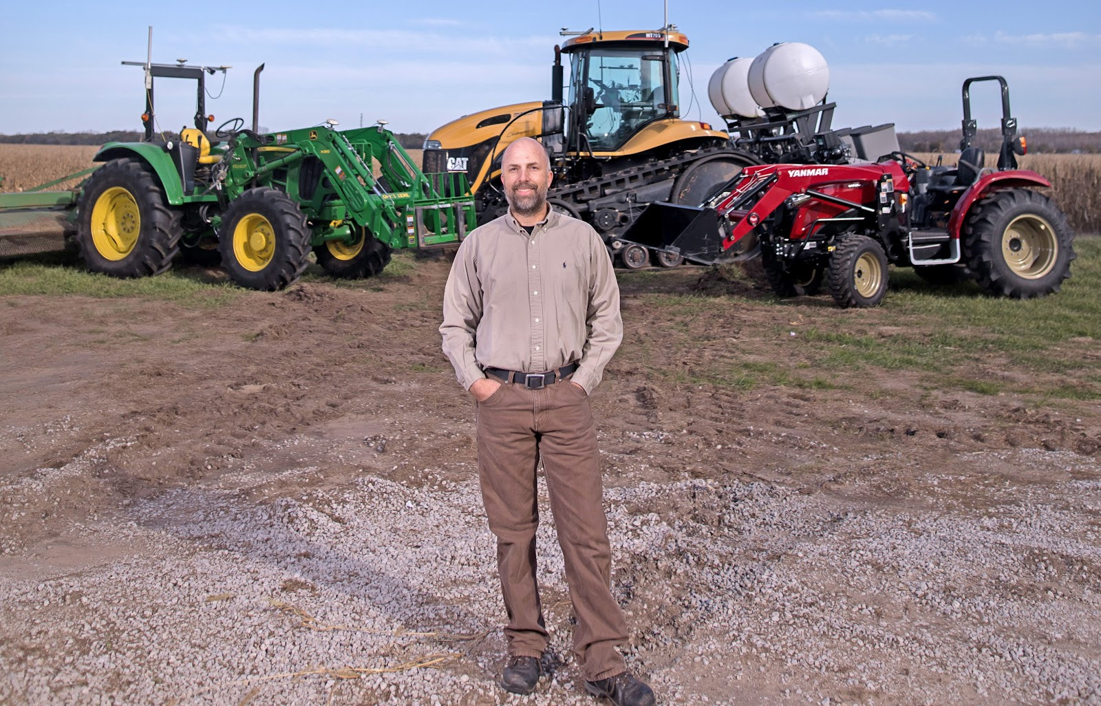 Kyler Laird is about to carve a notch into agriculture history by planting 10,000 acres of soybeans with a driverless tractor. Skeptics beware: Laird has loosed the DIY robots and his operation will never be the same.